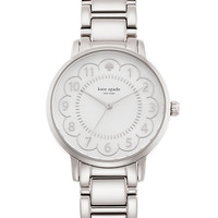 Kate Spade Scallop Gramercy Watch Stainless Steel ONE