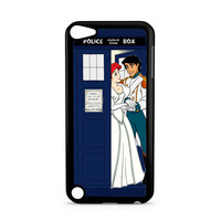 Ariel Mermaid and Eric Wedding in Tardis Dr Who iPod Touch 5 | 5th Gen case