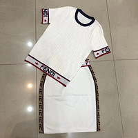 FENDI Women Top Skirt Two-Piece-2
