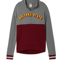 Arizona State University High/Low Half-Zip - PINK - Victoria's Secret