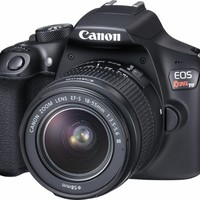 Canon - EOS Rebel T6 DSLR Camera with EF-S 18-55mm f/3.5-5.6 IS II Lens