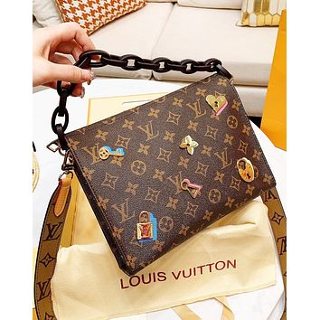 LV Louis Vuitton Trending Popular Women Shopping Leather Handbag Shoulder Bag Crossbody Satchel