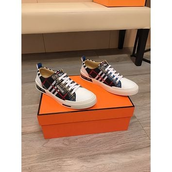 Burberry 2021 Men Fashion Boots fashionable Casual leather Breathable Sneakers Running Shoes07210gh