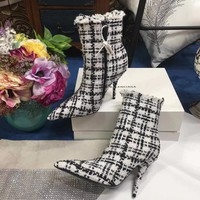 Balenciaga Women Casual Shoes Boots  fashionable casual leather