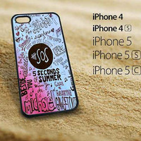 5SOS Quote fitted iphone 5 case  iphone 5s case iphone 5c case  iphone 4s case  iphone 4 case Samsung Galaxy S3 case  Samsung Galaxy S4 case