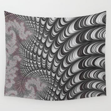 interior wall ART, design by ALICE, 3d fractals Wall Tapestry by ACKelly