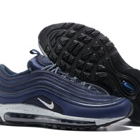 KU-YOU Air Max 97 Navy Blue/ White Swoosh