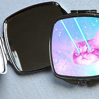 Funky Catsterz Nyan's Revenge Square Mirrored Compact