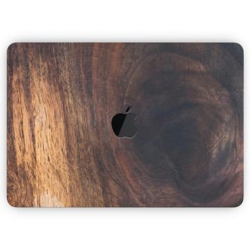"""Knotted Rich Wood Plank - Skin Decal Wrap Kit Compatible with the Apple MacBook Pro, Pro with Touch Bar or Air (11"""", 12"""", 13"""", 15"""" & 16"""" - All Versions Available)"""