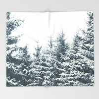In Winter Throw Blanket by Tordis Kayma | Society6
