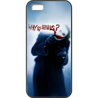 """The Dark Knight - Joker """"Why So Serious?"""" Case Cover For IPHONE 5c"""