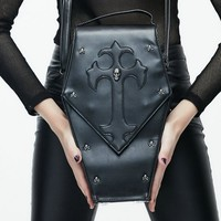 The Coffin Skull & Cross Bag