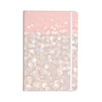 "Debbra Obertanec ""Magical"" Pink Glitter Everything Notebook"