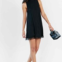 Cooperative Scallop-Hem Lace Frock Dress-