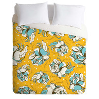 Heather Dutton Felicity Golden Duvet Cover