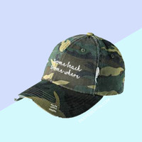 """Some Beach, Somewhere"" Hat"