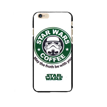 Star Wars Coffee Starbucks Coffee Logo Painting Exquisite PC Phone Case Cover Shell For Apple iPhone 5/5S/SE