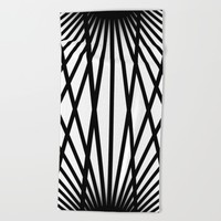 NOVAURORA Beach Towel by Chrisb Marquez