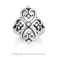 Adorned Hearts Ring from James Avery