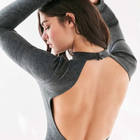 Out From Under Sadie Velvet Open Back Bodysuit - Urban Outfitters
