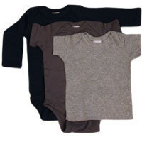 Boy Pea-ssentials Variety 3 Pack, twobluepeas.com: plain Onesuits, unique baby gifts, baby boy gifts