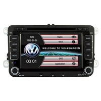"""7"""" Touchscreen GPS Navigation Unit For VW Volkswagen Beetle CC EOS GTI Jetta Passat Tiguan With Radio (AM/FM),iPod Interface,Bluetooth Hands Free,USB, AUX Input,US & Canada Map,Plug & Play Installation"""