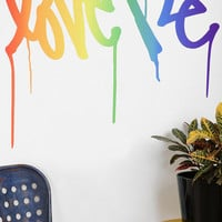 Urban Outfitters - Love Me By Curtis Kulig Wall Decal