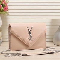 YSL Yves Saint laurent Women Fashion Leather Chain Satchel Shoulder Bag Crossbody
