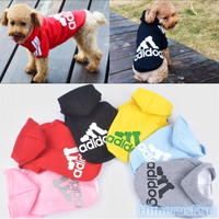 Pet Puppy Clothes Winter Coat Cat Dog HOODIES Sweater Clothes Costume Jacket [7655739526]