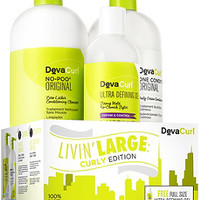 DevaCurl Online Only Livin' Large: Curly Edition Liter Duo