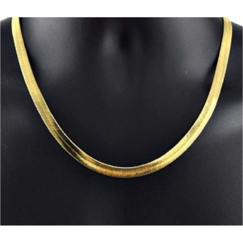 "14k Gold Filled Herringbone Chain 20"". Absolutely stunning!"