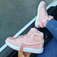 Nike Air Jordan 1 SOH AJ1 Pink Sneakers Sport Shoes