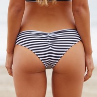 Free People Nikki Stripe Bikini Bottom