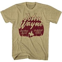 Mens John Wayne The Big Trail Retro T-Shirt