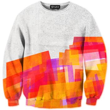 Abstract Paint Crewneck