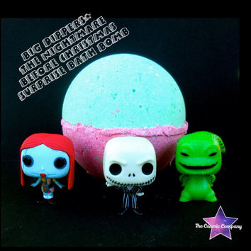 "Big Dippers"" The Nightmare Before Christmas surprise bath bomb"