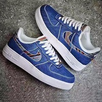 hcxx Nike Air Force 1 '07 LV8 'Afro Punk Pack'-Navy