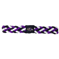 Baltimore Ravens NFL Braided Head Band 6 Braid