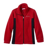 Columbia Sportswear Flat Top Mountain Fleece Jacket - Boys 8-20, Size: