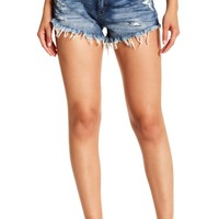 BLANKNYC Denim | Wedge Cutoff Denim Shorts | Nordstrom Rack