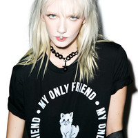 Burger And Friends My Only Friend Tee Black