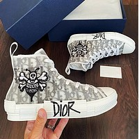 DIOR Women Oblique High-top Sneakers