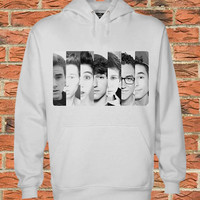 Our 2nd Life face Black white Pullover Sweater Sweatshirt hoodie