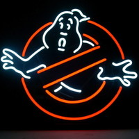 "New Ghostbusters "" No "" Ghosts Pub Home Bar Neon Sign Wall Decor Art 24""x20"""