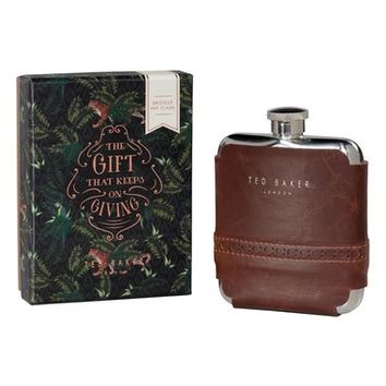 Wild and Wolf x Ted Baker London Brogue Hip Flask   Nordstrom