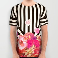 Floraline All Over Print Shirt by Bianca Green