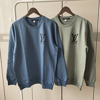 Louis Vuitton LV Men Women Fashion Pullover Sweatshirt