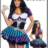 Pirate Cosplay Anime Cosplay Apparel Holloween Costume [9211504836]