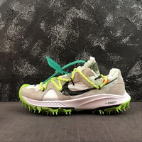"""OFF WHITE x Nike Air Zoom Terra Kiger 5 """"White"""" Sport Shoes - Best Online Sale"""