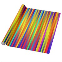 Vibrant Lines 17 Wrapping Paper